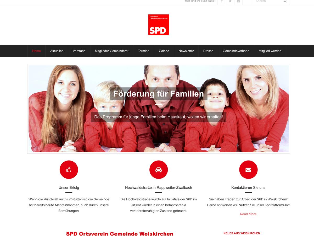 Neue Webseite für Partei erstellen lassen